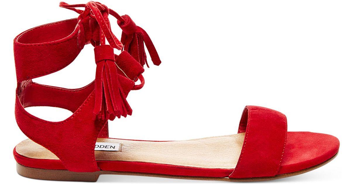 Steve Red Madden Daryyn Women's Strappy Sandals TKJulF1c3