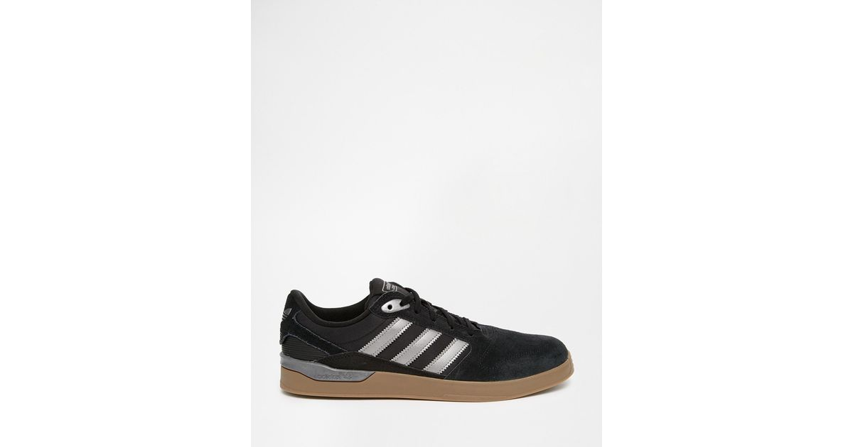 check out a50bc 6abbe Lyst - adidas Originals Zx Vulc Trainers in Black for Men