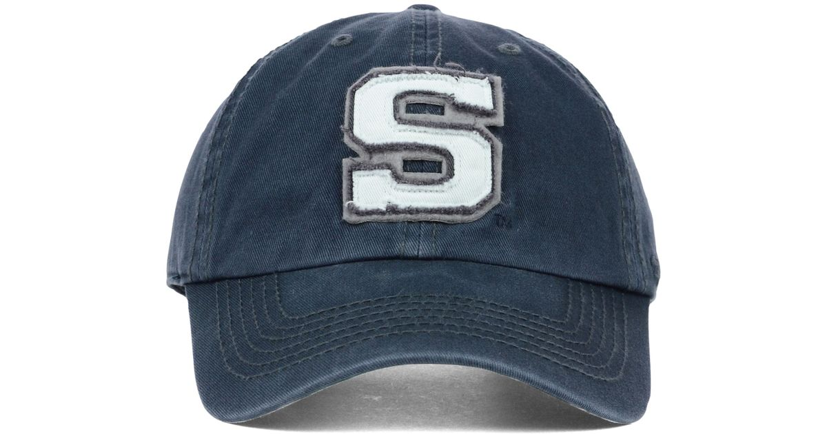 low priced 39fa3 b7419 ... spain lyst 47 brand penn state nittany lions gibraltar clean up cap in  blue for men