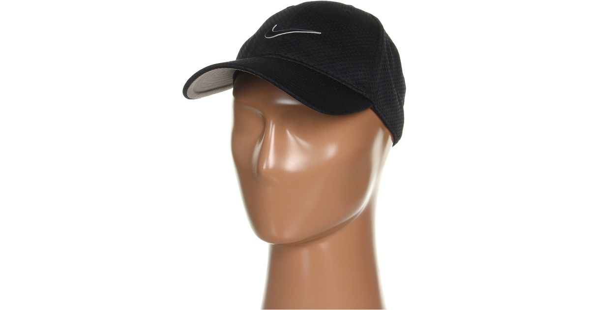 5b061966b Nike Black Heritage Dri-fit Mesh Adjustable for men