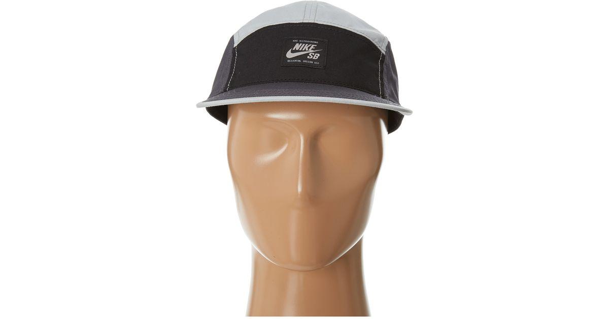 fee5b9d692873 Lyst - Nike Sb Blocked 5panel Hat in Black for Men