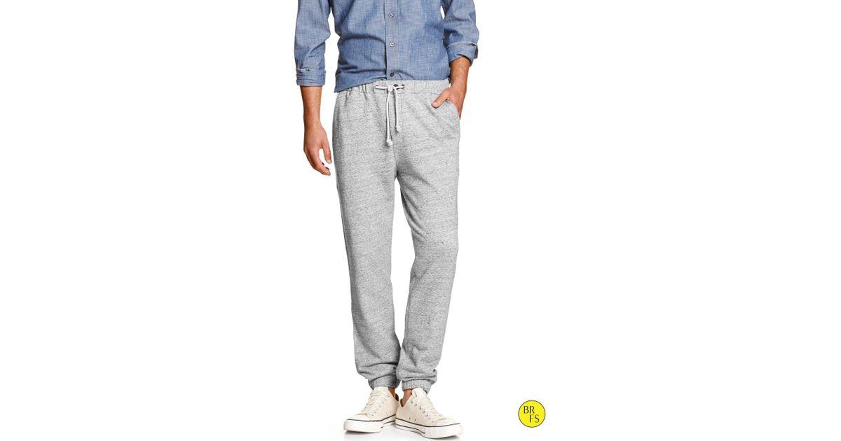 Banana Republic Factory Jogger Pant In Gray For Men