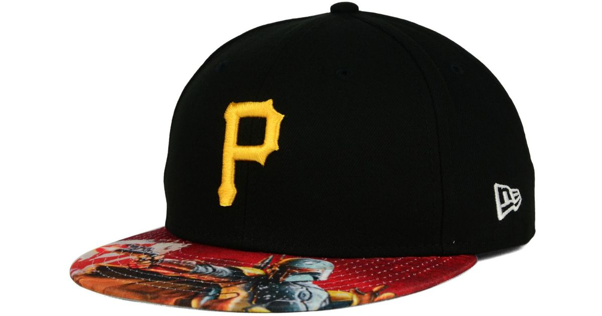 new product 97e18 86603 KTZ Pittsburgh Pirates Mlb X Star Wars Viza Print 59fifty Cap in Red for Men  - Lyst