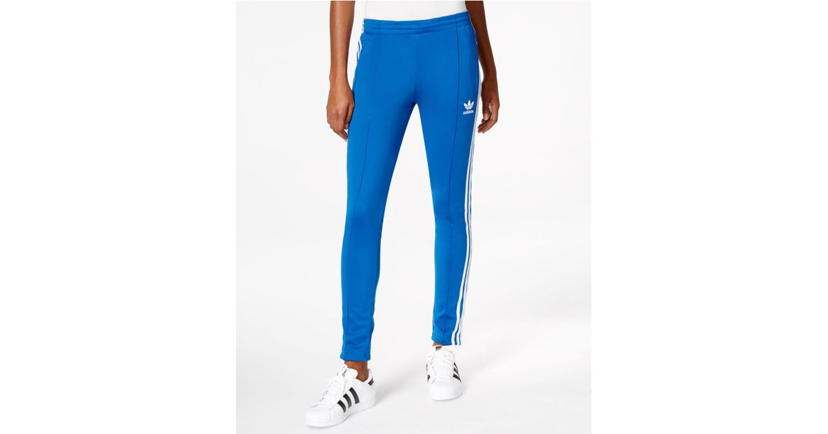 Adidas Blue Originals Supergirl Track Pants