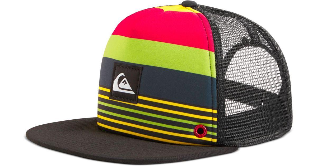 43ada7ab01c Lyst - Quiksilver Boardies Hat in Red for Men
