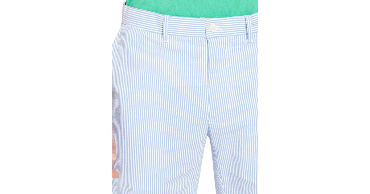 776ace52e6 Pink Pony Blue Range-fit Seersucker Pant for men
