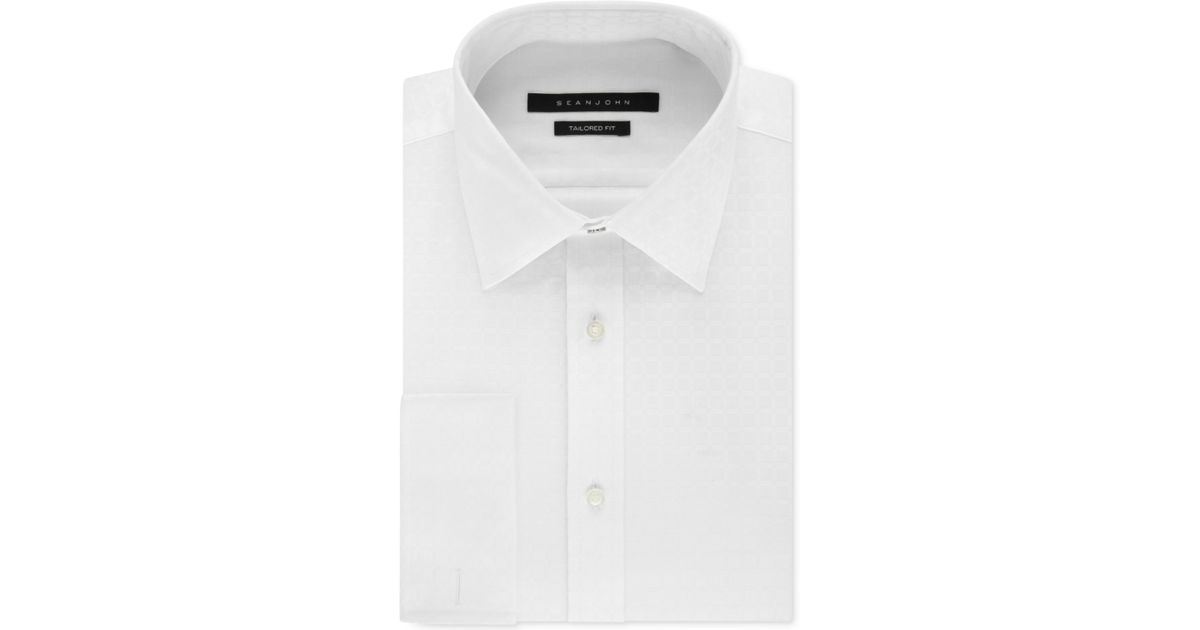 sean john men 39 s big and tall white textured solid french