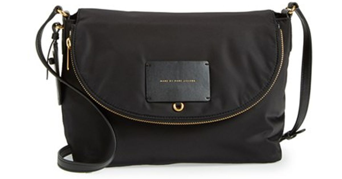 Lyst Marc By Jacobs Preppy Legend Natasha Nylon Crossbody Bag In Black