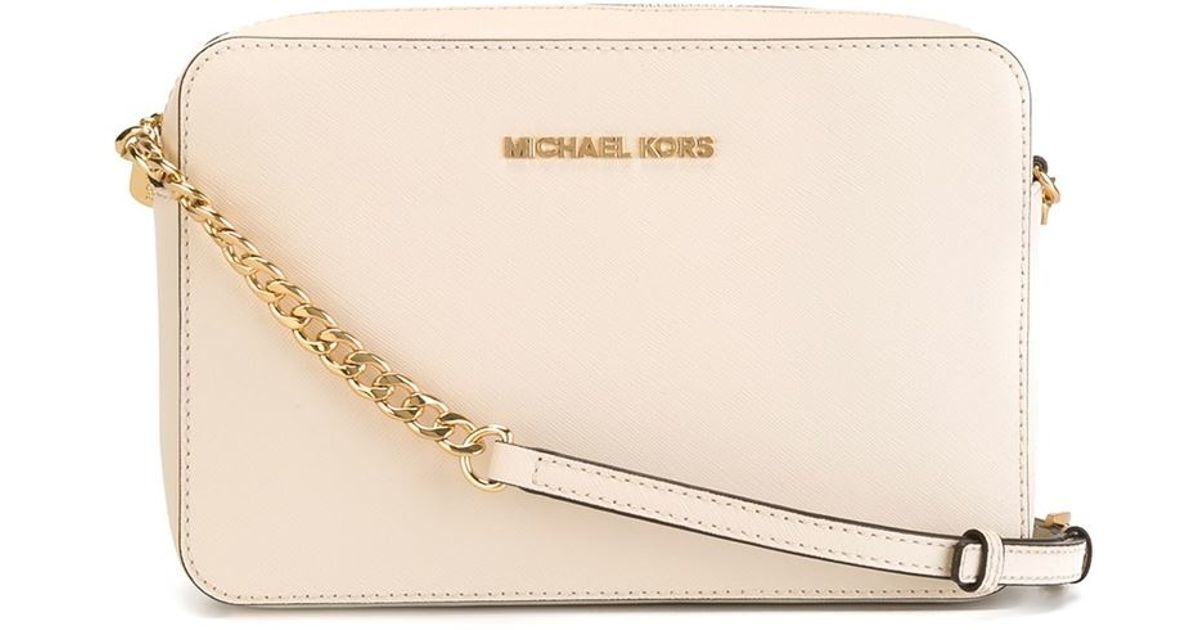 5caaff13b81 MICHAEL Michael Kors Large 'jet Set' Crossbody Bag in Pink - Lyst