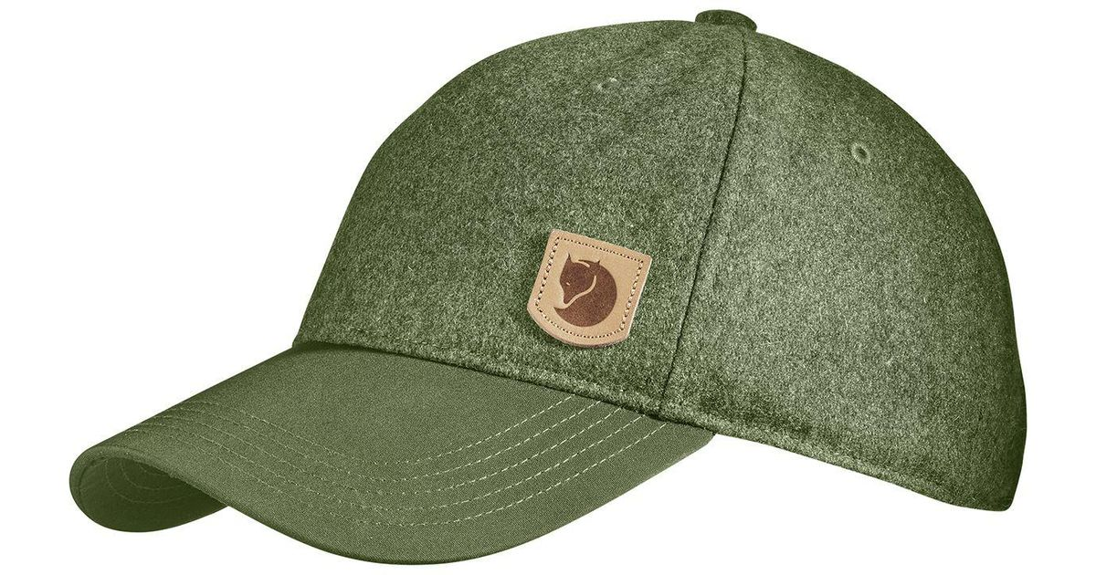 21d0cb7892f39 Lyst - Fjallraven Greenland Wool Cap in Green for Men