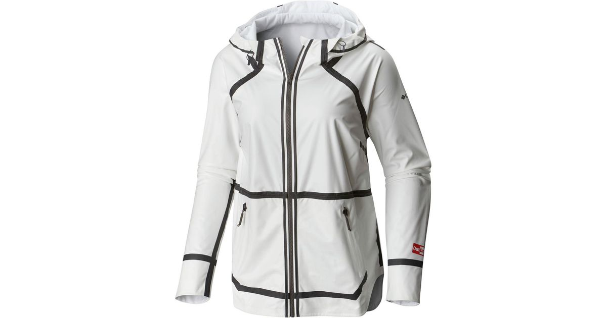 Columbia Outdry Ex Reversible Ii Jacket in White - Save 51 ...