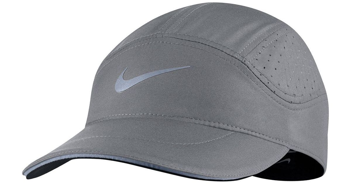 c0f993d6868da Nike Aerobill Elite Running Hat in Gray for Men - Lyst