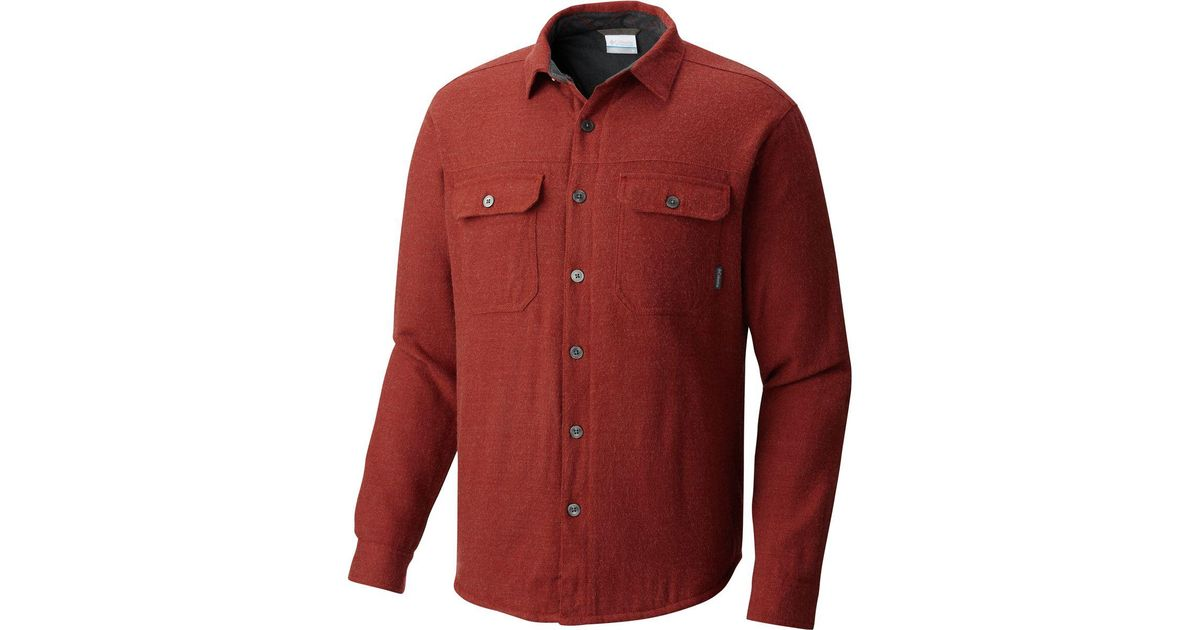 990a78271d Columbia Red Pullover Sweater for men