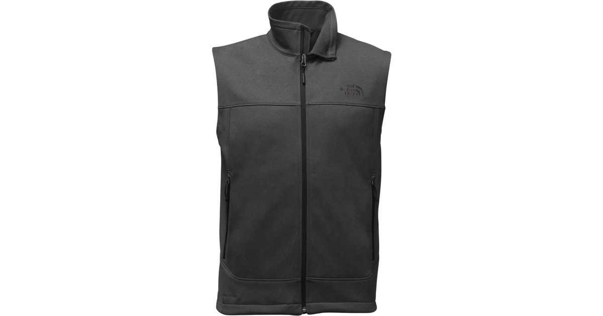 3e0d68981623 Lyst - The North Face Canyonwall Fleece Vest in Gray for Men