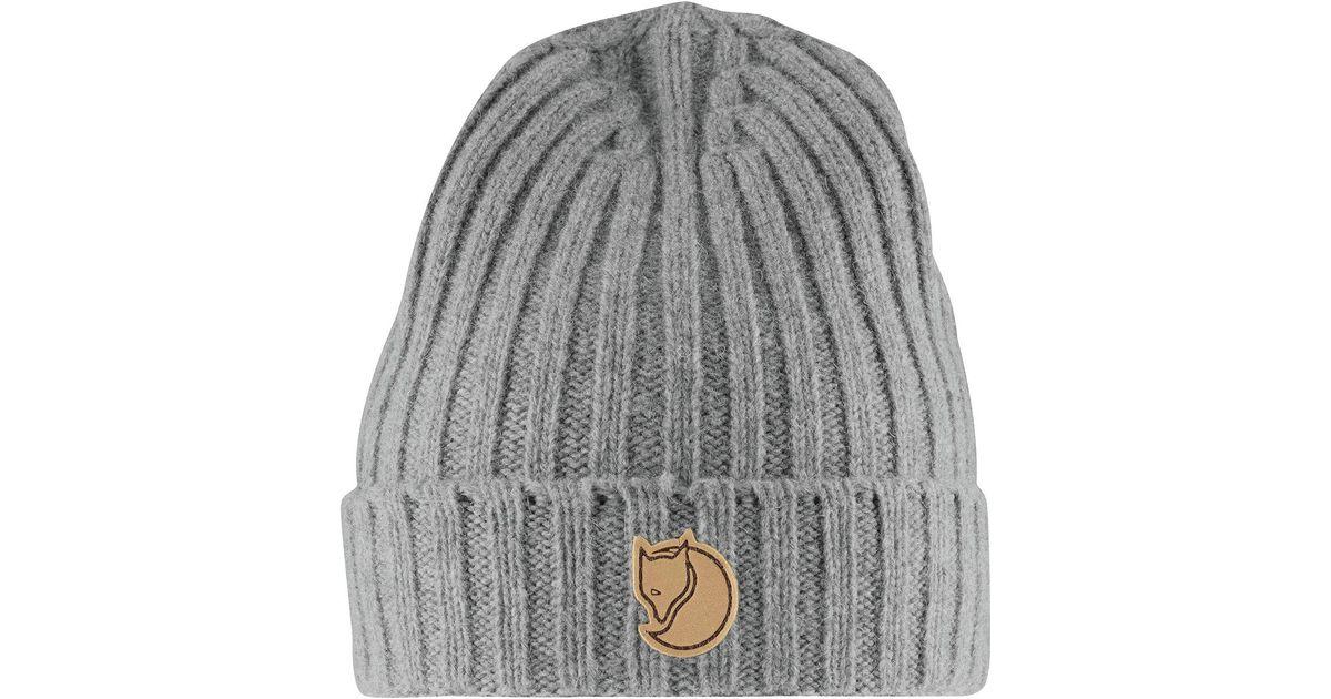 add177152b07a Lyst - Fjallraven Re-wool Hat in Gray for Men