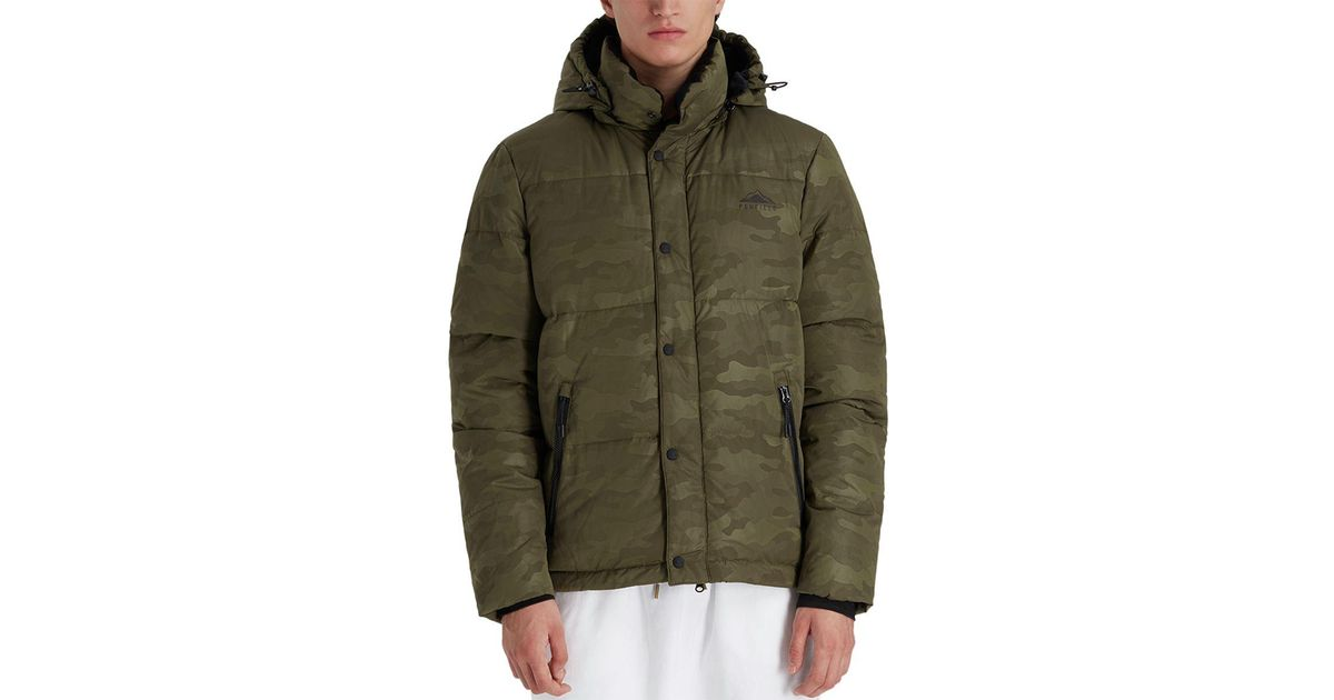 56731f49f35f2 Penfield Equinox Camo Down Jacket in Green for Men - Lyst