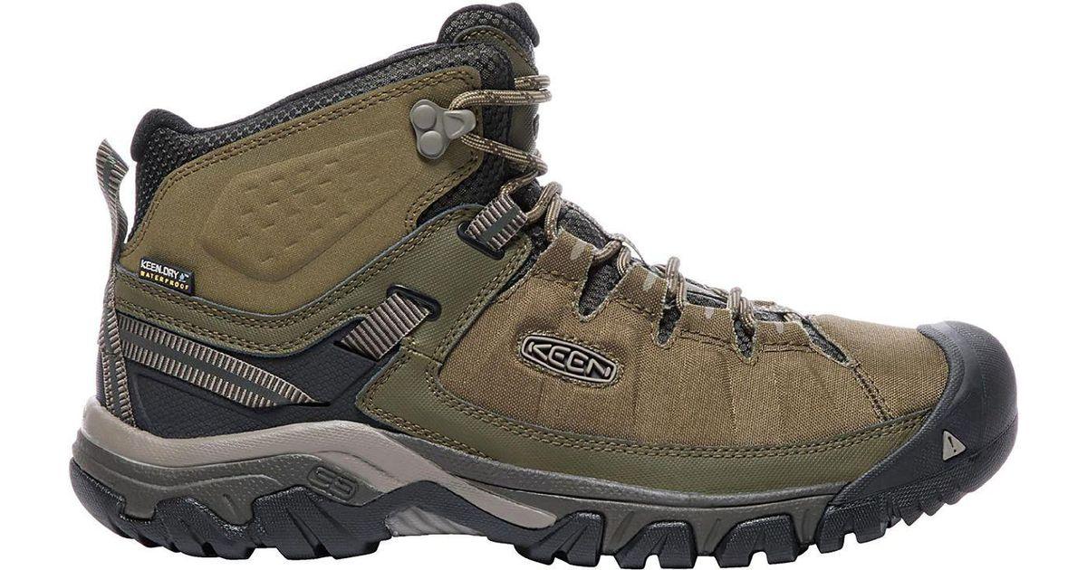 e3df891b3d5 Keen Green Targhee Exp Mid Waterproof Boot for men