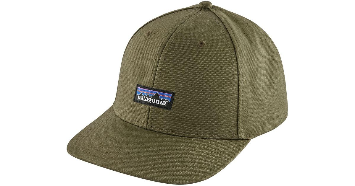 Patagonia Synthetic Tin Shed Hat In Green For Men Lyst