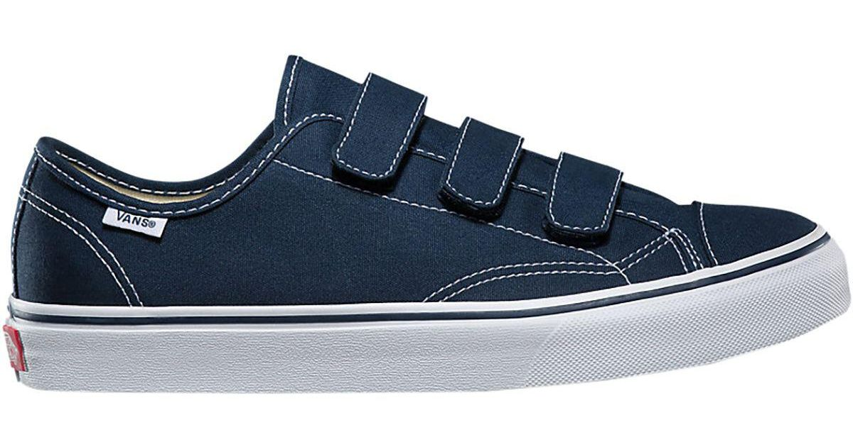 0d15dc1ee80 Lyst - Vans Canvas Style 23 V Shoe in Blue