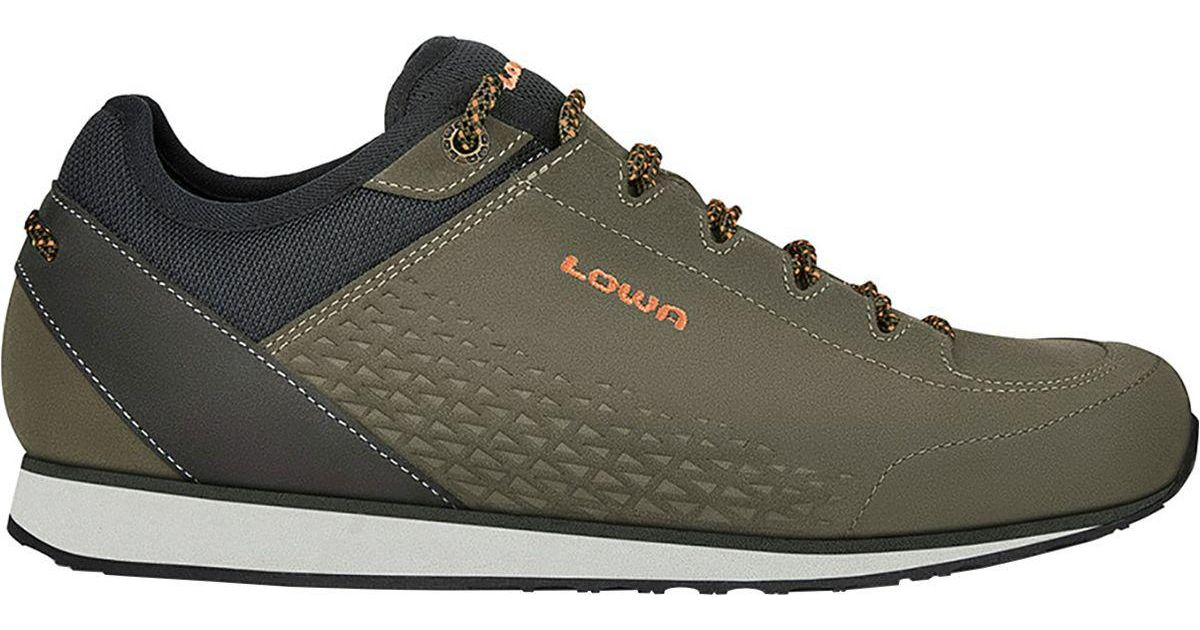 Lowa Leather Stanton Shoe in Olive