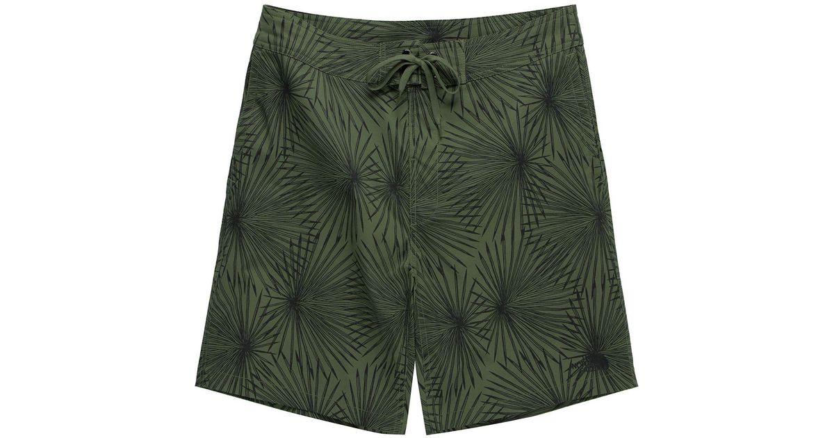 Mens Swim Trunks Quick Dry Lucky Four Leaf Clover Retro Charm Printed Summer Beach Shorts Board Beach Short