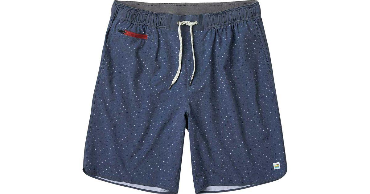 91ca9d83ad Lyst - Vuori Banks 2.0 Short in Blue for Men