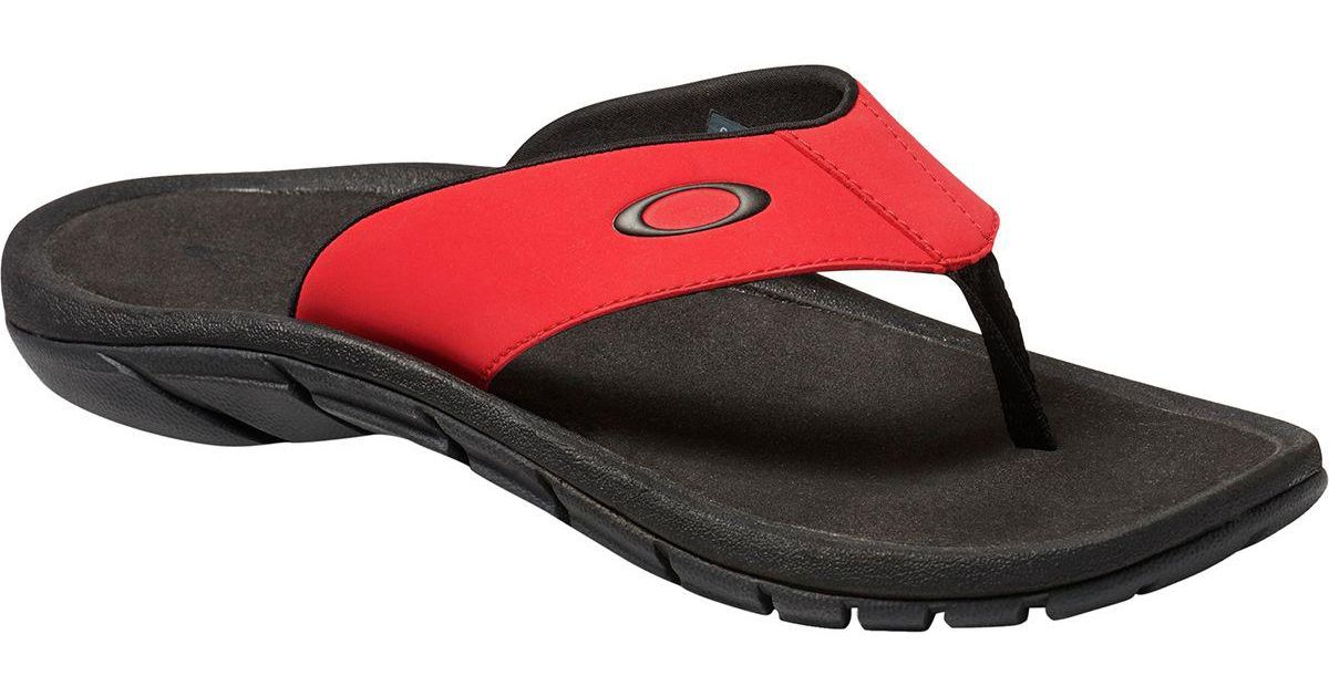 d7a2db0e3227 Lyst - Oakley Super Coil 2.0 Sandal in Red for Men