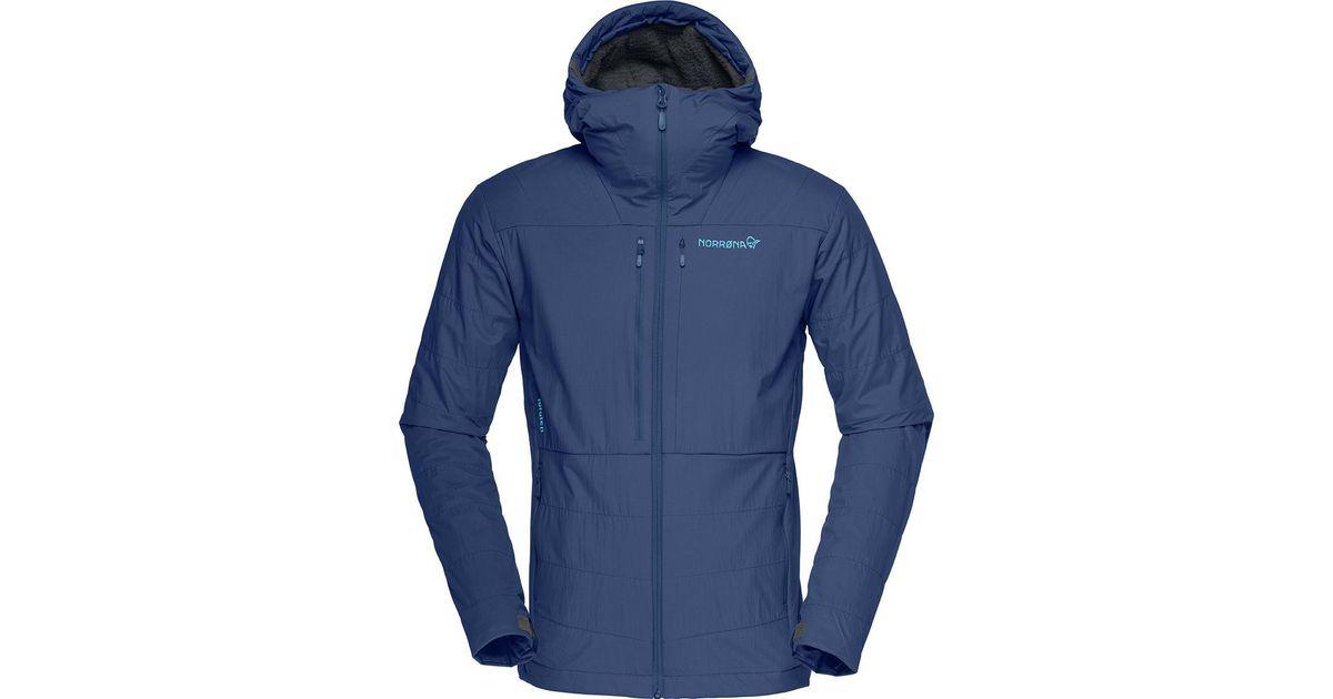 Norrona Blue Lofoten Powershield Pro Alpha Jacket for men