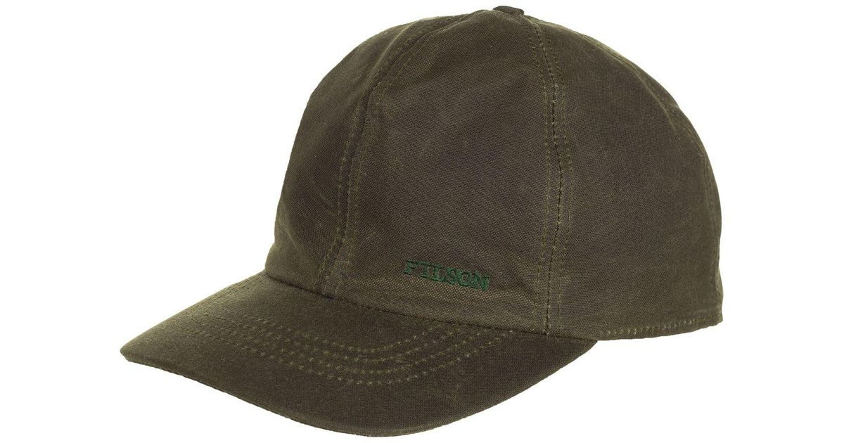 86c11ad7cbc Lyst - Filson Insulated Tin Cloth Cap in Green for Men