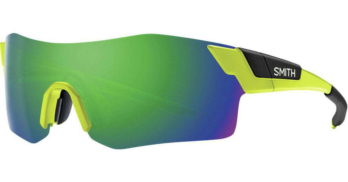 b602af634d Lyst - Smith Pivlock Arena Chromapop Sunglasses in Green for Men