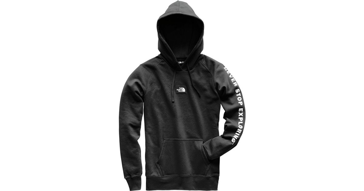d09aae0f0 The North Face Black Patches Pullover Hoodie for men