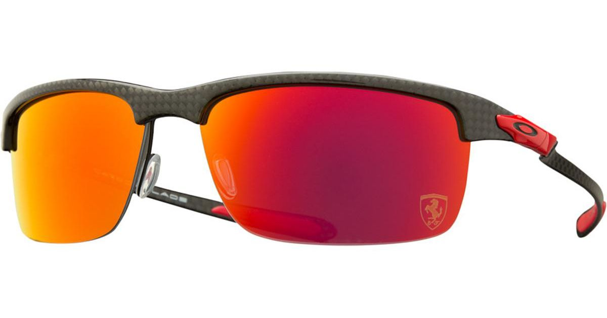 lyst - oakley limited edition ferrari carbon blade polarized