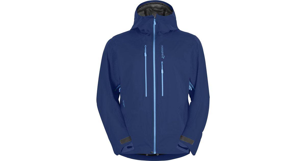 3025ee21 Norrøna Lyngen Hybrid Jacket in Blue for Men - Lyst