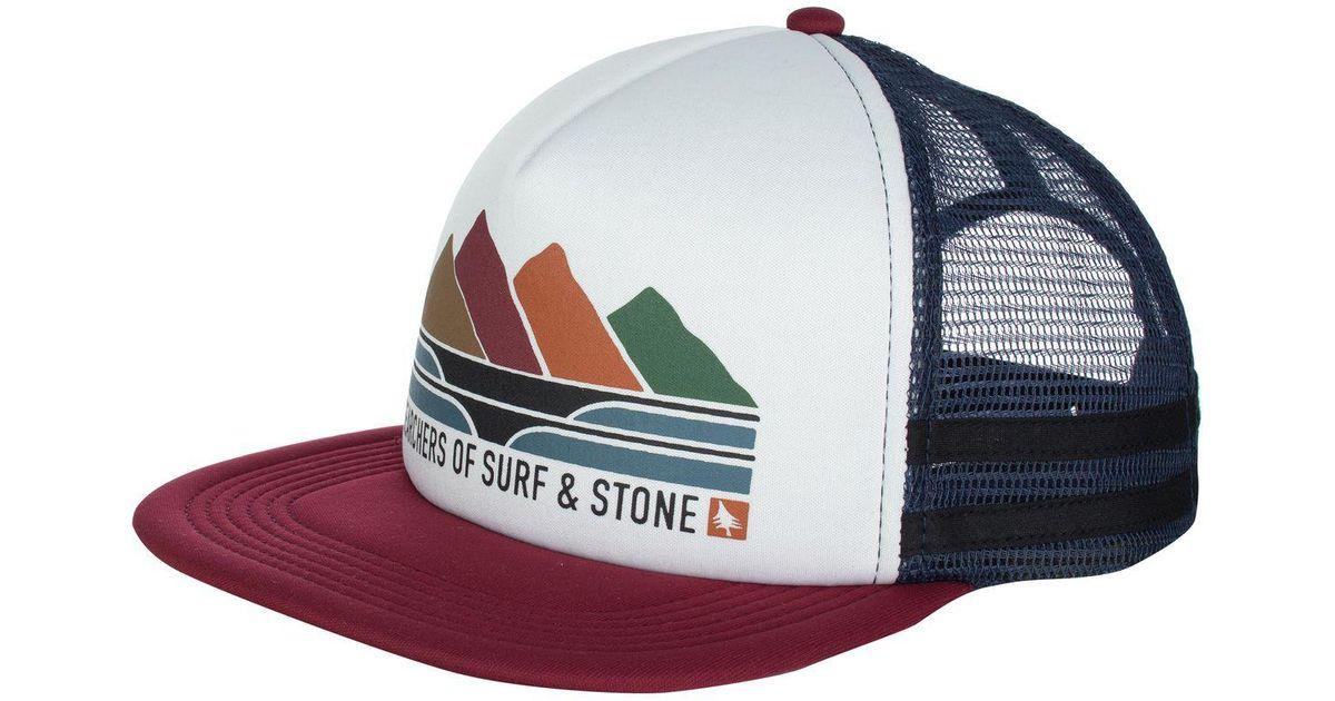 a30a572e02d Lyst - HippyTree Ridgeline Trucker Hat in White for Men