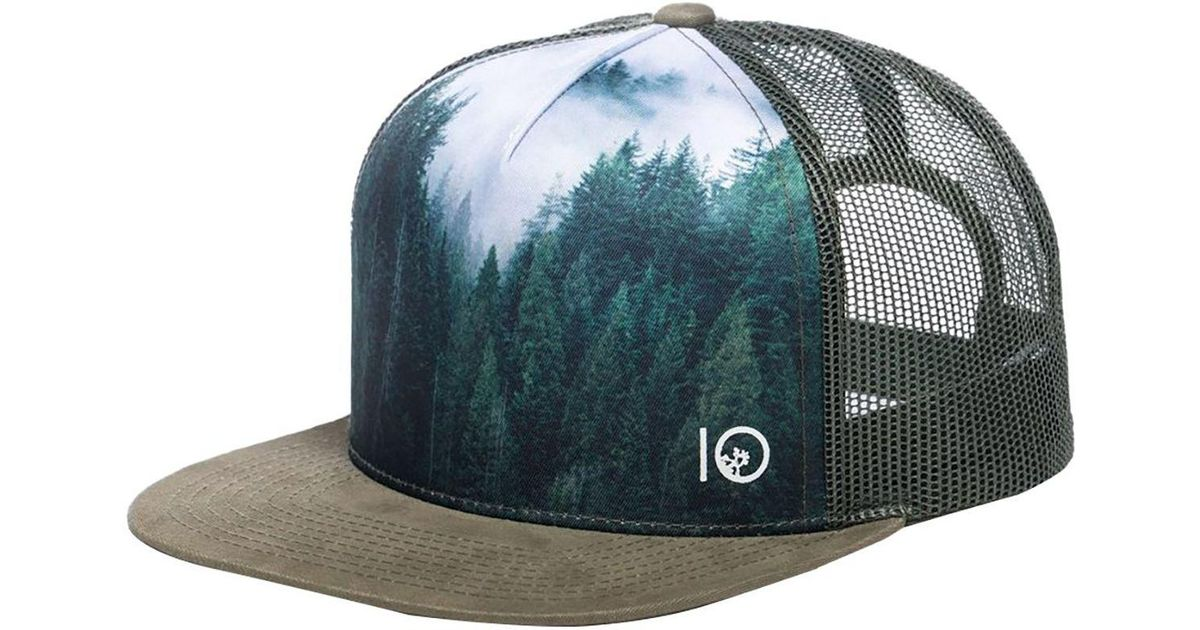 Lyst - Tentree Outlook Trucker Hat for Men f1aaef46aee