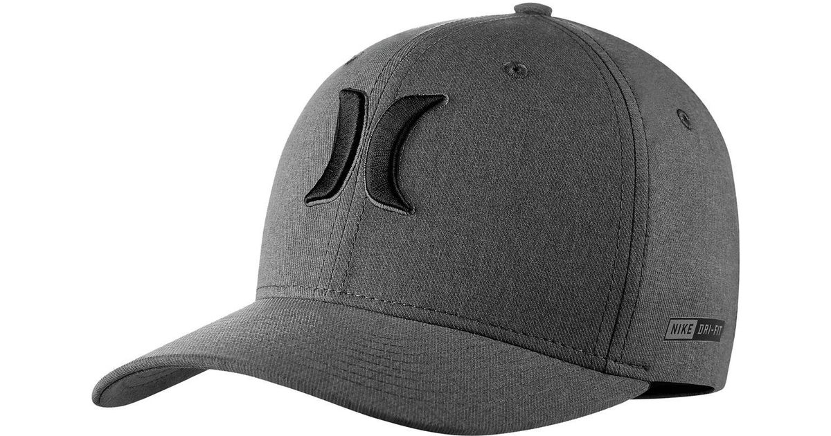 ... denmark lyst hurley dri fit heather hat in black for men 1140f 5bf39 bb769db5ddd