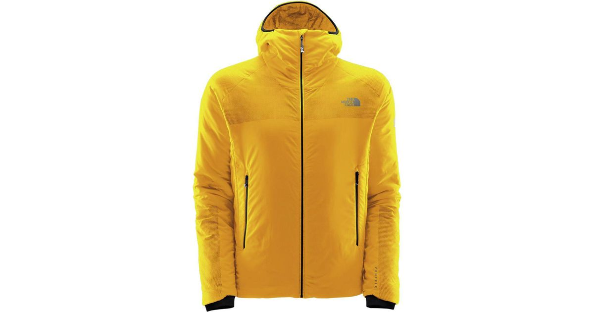 6d6d08e84 The North Face Yellow Summit L3 Ventrix Hooded Insulated Jacket for men