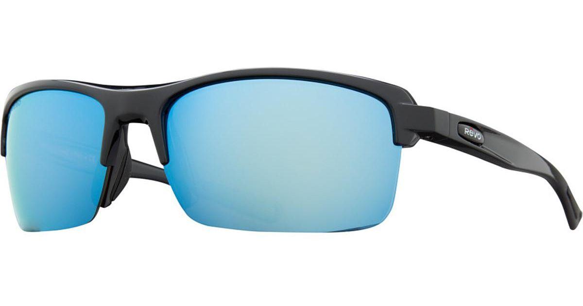 Blue Water Sunglasses NEW Revo Edge 1074-01-BL Black