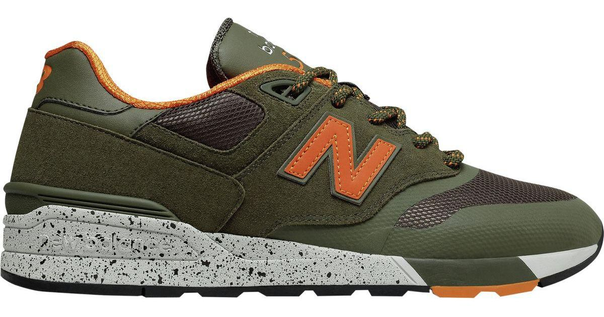 innovative design 18ea1 c496a New Balance Green 597 Modern Classic Shoe for men