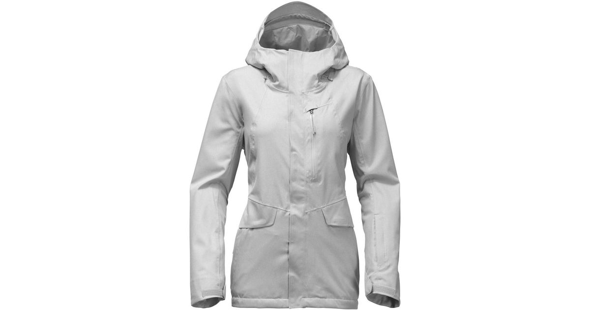 fd8baa1bab Lyst - The North Face Thermoball Snow Triclimate Hooded 3-in-1 Jacket in  Gray