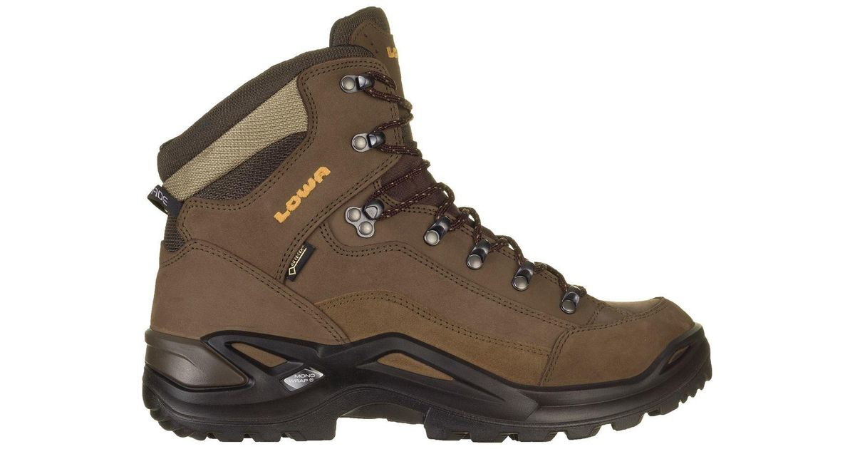 968747fb8db Lowa Brown Renegade Gtx Mid Boot - Wide for men