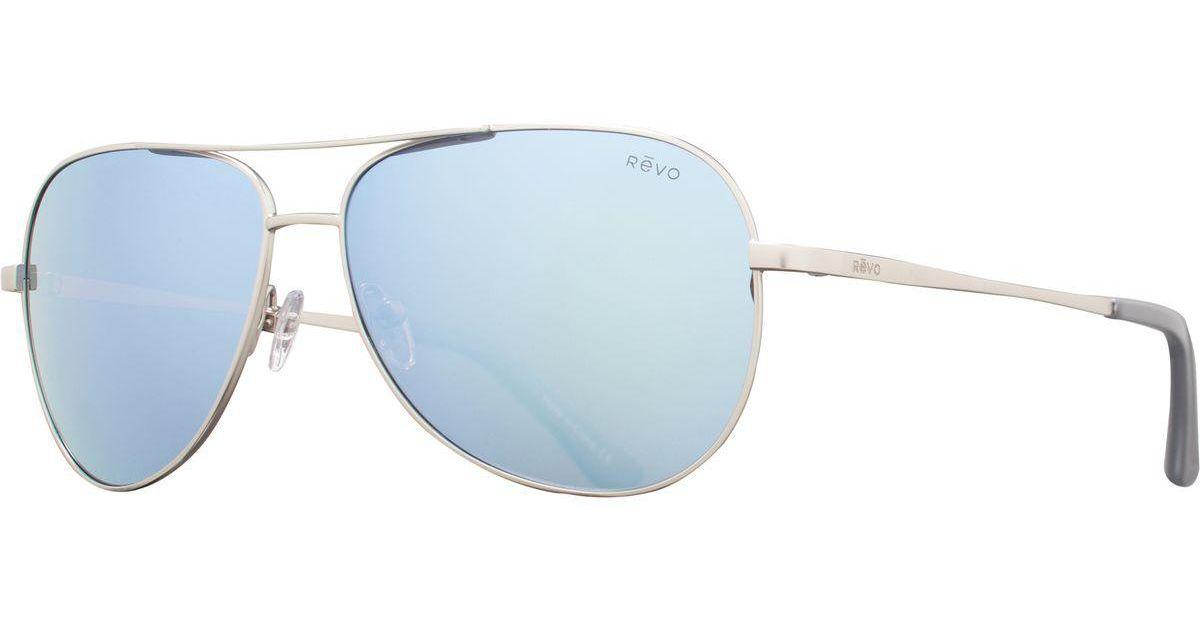 ff399fd538 Lyst - Revo Johnston Sunglasses - Polarized in Blue for Men