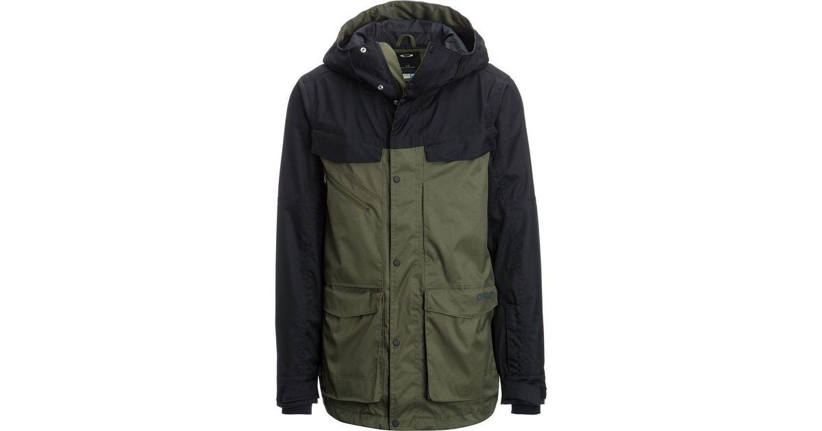 Lyst - Oakley Timber Biozone Jacket in Green for Men deb5f06bddc