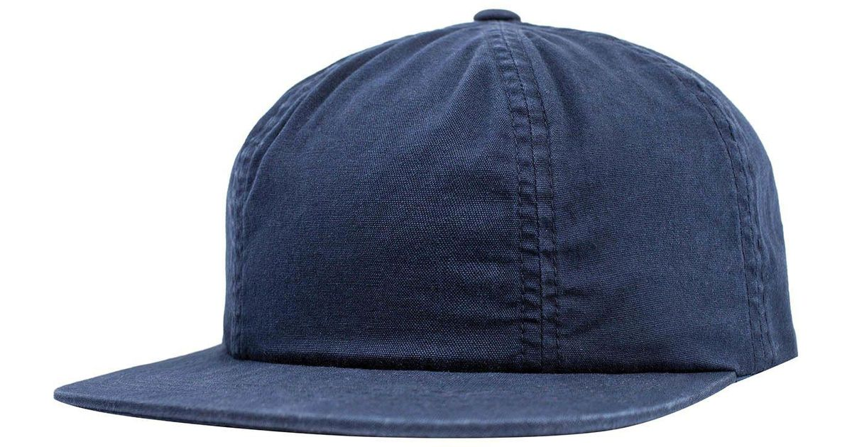 Lyst - Brixton Lakewood Cap in Blue for Men 12eb8cc0c83