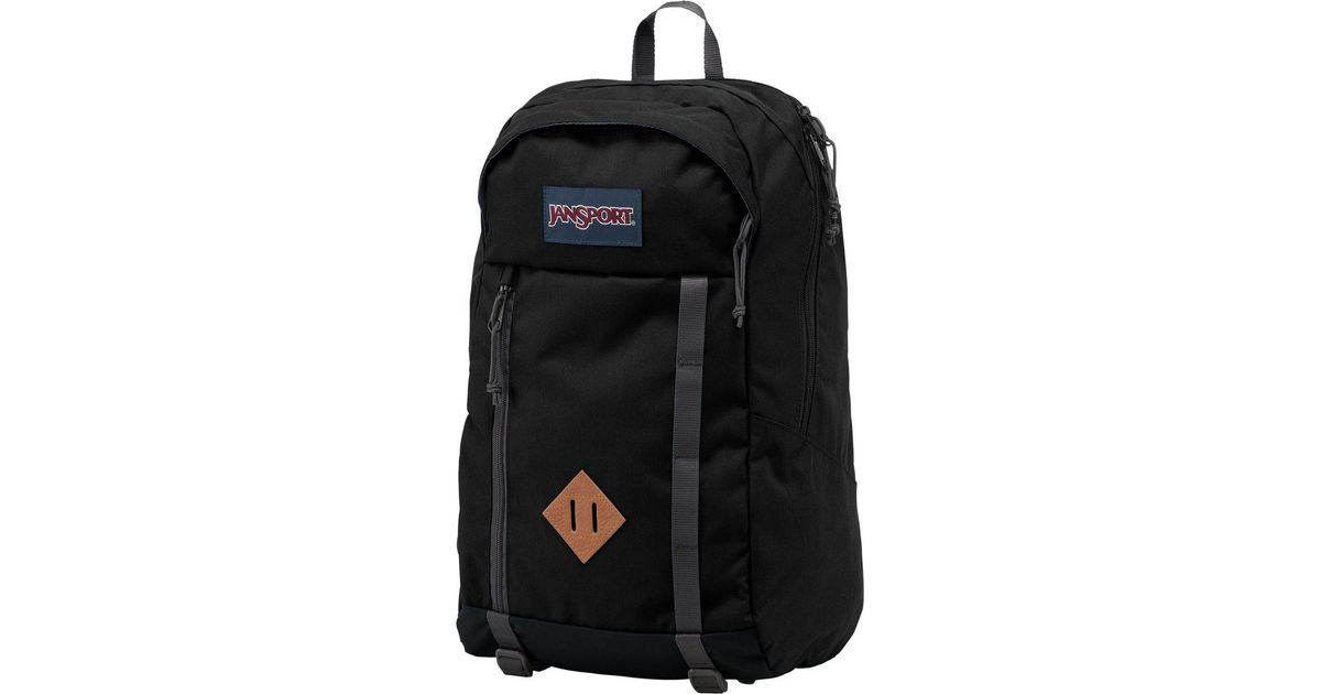 c52c5743ec Lyst - Jansport Foxhole 28l Backpack in Black