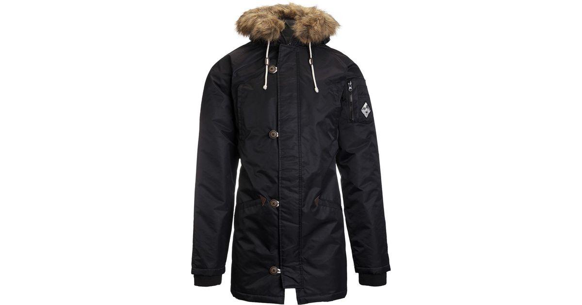 8e0a168400 Vans Black Jt Hetch Mte Jacket for men