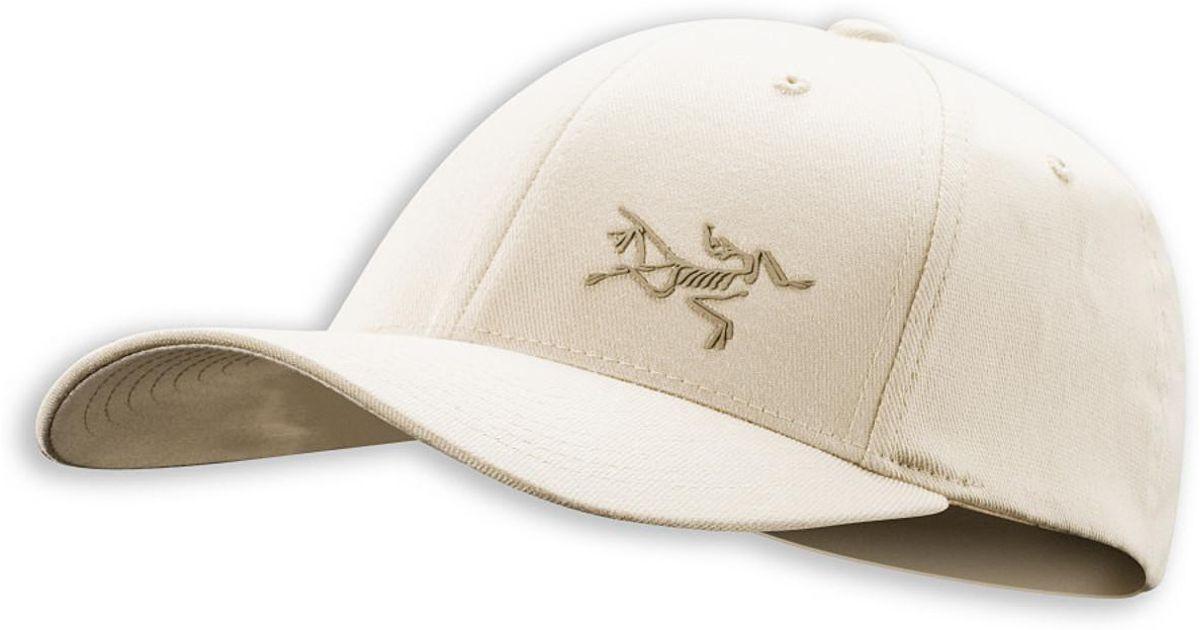 82aabf061 Lyst - Arc'Teryx Bird Flexfit Hat in Natural for Men