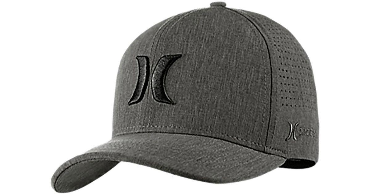 check out 226c6 46a63 Hurley Phantom Vapor 3.0 Hat in Black for Men - Lyst