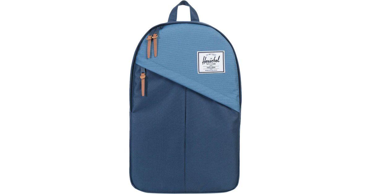 Lyst - Herschel Supply Co. Parker 19l Backpack in Blue for Men 34c948e329015
