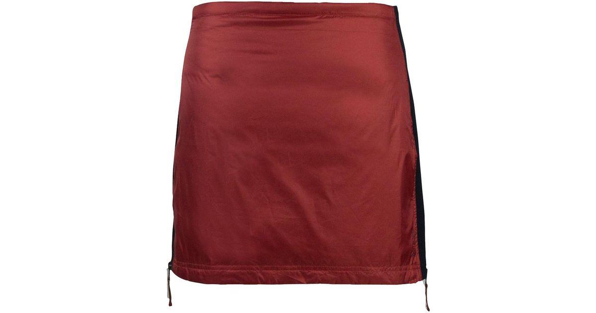 04a7676550 Lyst - SKHOOP Rebecka Down Skirt in Red